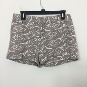 Ann Taylor LOFT Size 2 Tan Cream Shorts